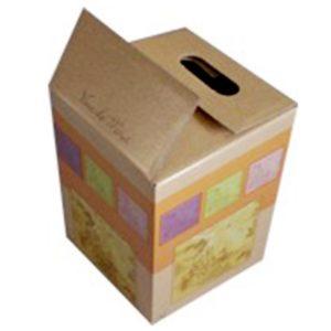 caja de carton vino 15 lt