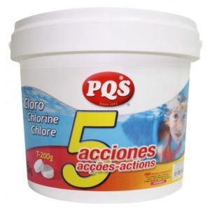 cloro 5 acciones 5 kg pqs