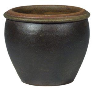 maceta campana gres terracota