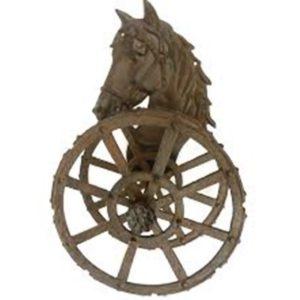 portamanguera caballo giratorio