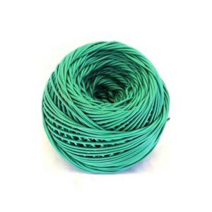 ovillo plastico verde