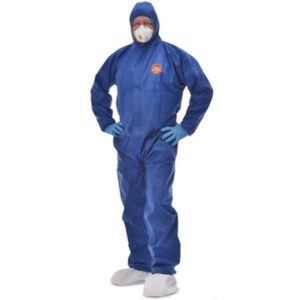 buzo antivirus tritex pro azul